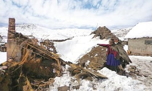 MDG : Snow in Peru