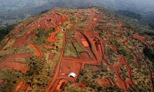 Simandou iron ore mine, Guinea
