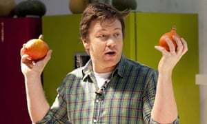 Jamie Oliver is campaigning for home cooking