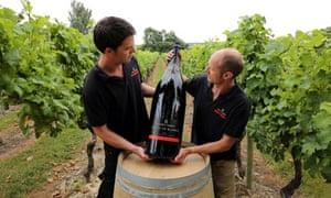 English sparkling wines Chapel Down Kent