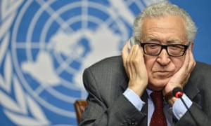 The UN/Arab League envoy to Syria Lakhdar Brahimi.
