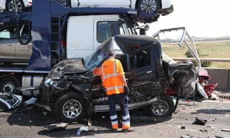 Sheppey crash worker