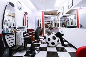 West Africa barbers: Ghana