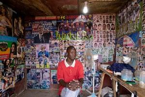 West Africa barbers: Mali