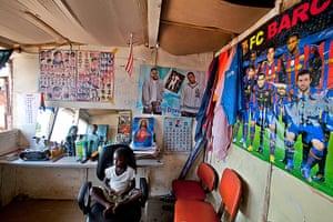 West Africa barbers: Liberia