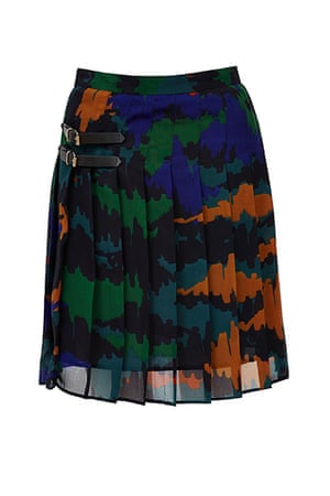 best skirts: camo print kilt