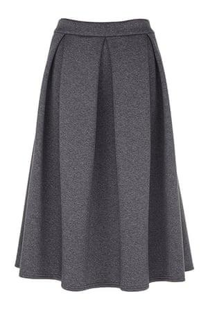 best skirts: grey full skirt