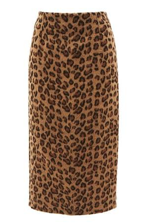 best skirts: leopard print pencil skirt