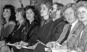 Marie Helvin at an Emanuel Fashion Show in 1985