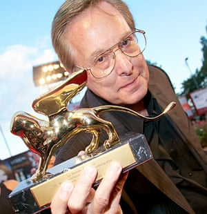 William Friedkin with his award