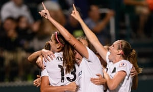 Portland Thorns beat Western New York Flash 2-0 to win first NWSL