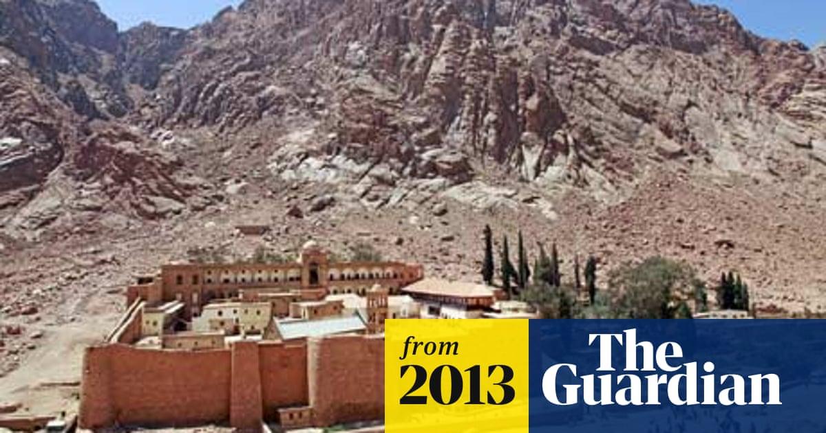 Mount Sinai monastery latest victim of Egypt's upheavals