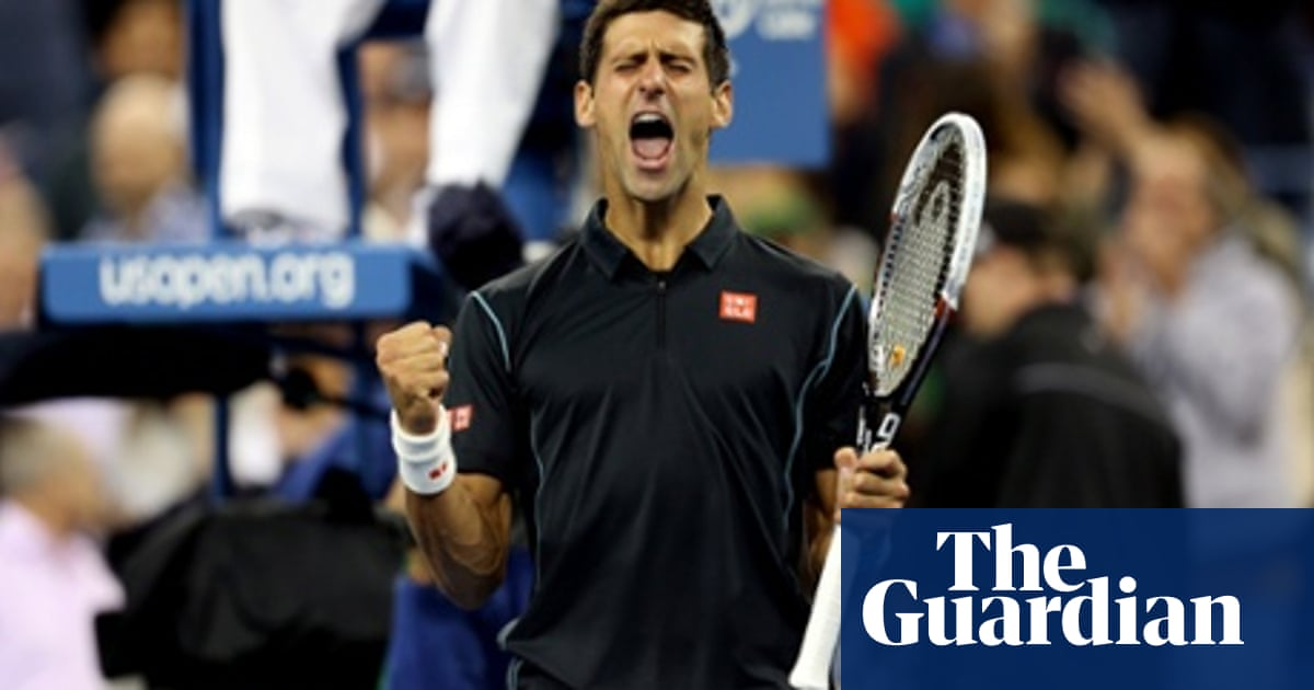 Novak Djokovic Drops Set But Advances To 14th Straight Grand Slam Semi Final Us Open Tennis 2013 The Guardian