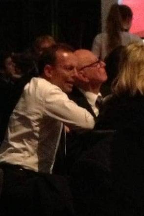 Tony Abbott and Rupert Murdoch