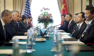 President Barack Obama and China's President Xi Jinping, at their bilateral meeting at the G20 Summit.