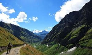 100km Ultra-Trail du Mont Blanc CCC ultramarathon through the Italian, Swiss and French Alps