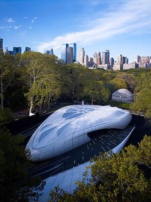 Zaha Hadid: Chanel Mobile Art Container, New York, NY