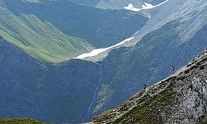 Ridge-running