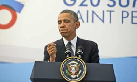Barack Obama at G20