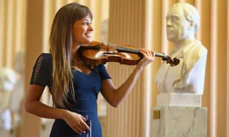 Violinist Nicola Benedetti