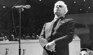 The quintessential maestro … Herbert von Karajan in 1970.