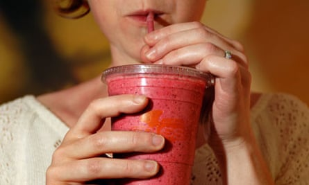 Smoothies and fruit juices new health risk