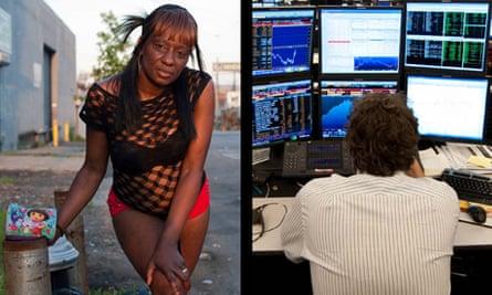 Prostitute v banker NYC