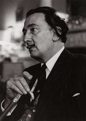 Lewis Morley: Salvador Dali in London, 1959