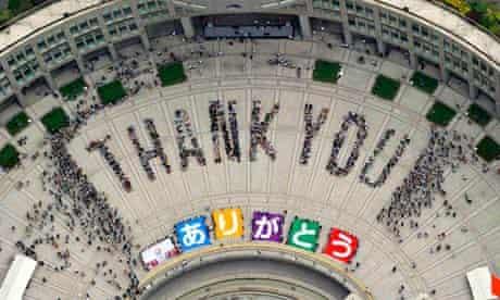 Tokyo thank you