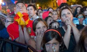 Madrid had prepared for celebration