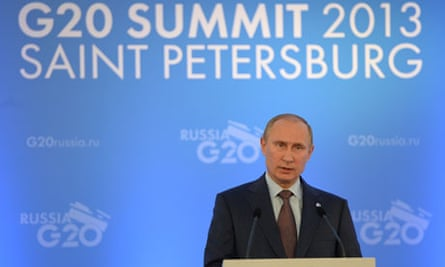 Vladimir Putin at the G20 Summit
