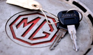 MG Rover was bought in 2000 by John Towers, Nick Stephenson, John Edwards and Peter Beale