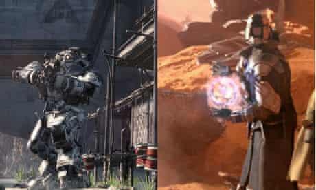 Titanfall vs Destiny