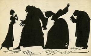 Sherriffs cartoons: Vivien Leigh, left, in The Mask of Virtue published in The Sketch, 12 June