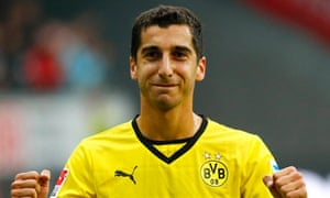 Mkhitaryan of Borussia Dortmund