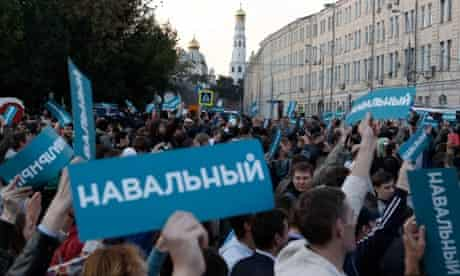 Alexei Navalny rally