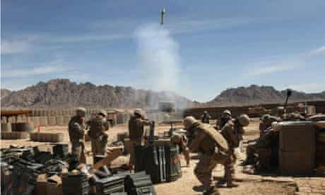 US fire white phosphorous at Taliban