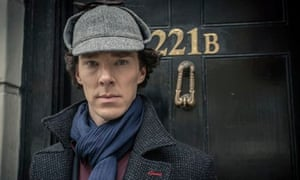 Benedict Cumberpatch as Sherlock Holmes
