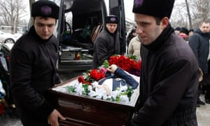 Volgograd bomb victim's funeral