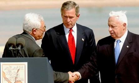 Ariel Sharon, Mahmoud Abbas