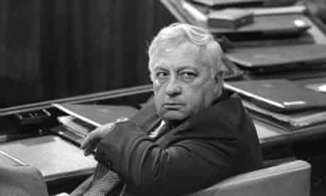 Ariel Sharon, minister of industry