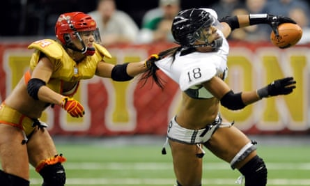 Players in the US Lingerie Football League.