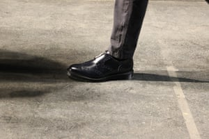 Zipped shoes at YMC