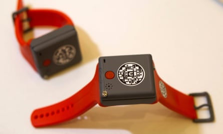 KMS Wristband phones for young children and older people