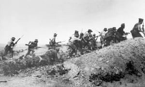 Australian troops in Gallipoli