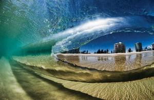 Incredible waves: Kirra in Queensland