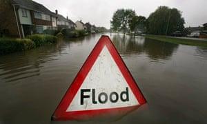 Flooding in Tewkesbury in 2007