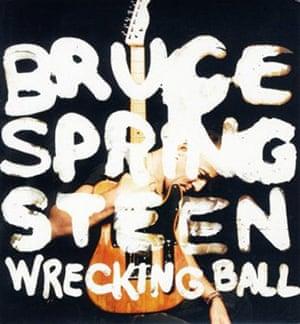 Springsteen: Wrecking Ball album cover