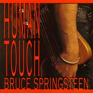 Springsteen: Human Touch album cover
