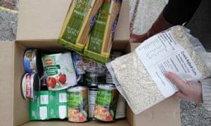 Food banks food stamps